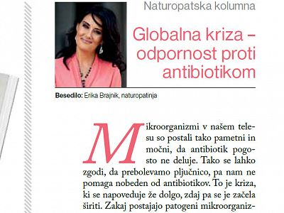 Globalana kriza odpornosti proti antibiotikom